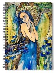 Pensive Spiral Notebooks