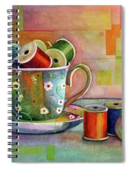 Sewing Pattern Spiral Notebooks