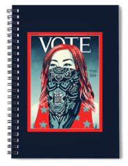 Political Spiral Notebooks