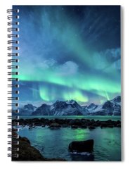 Aurora Borealis Spiral Notebooks