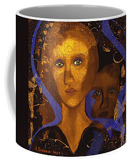 024 - Portrait Of A Modest Lady Coffee Mug