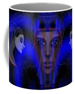 029 - Meeting  Electric Blue   Coffee Mug