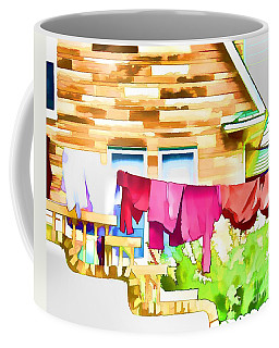 A Summer's Day - Digital Art Coffee Mug