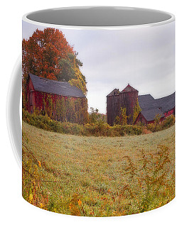 Abandoned Connecticut Farm  Coffee Mug by John Vose