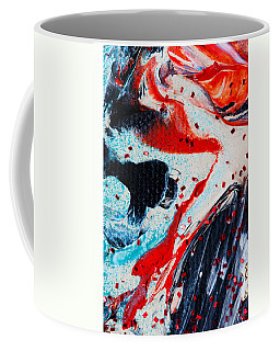 Abstract Original Artwork One Hundred Phoenixes Untitled Number Fifteen Coffee Mug