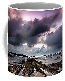 Around The World On A Boat Rock Coffee Mug