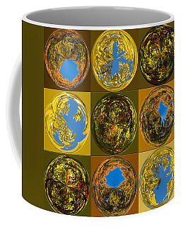 Coffee Mug featuring the photograph  Autumn  Spheres by Denise Beverly