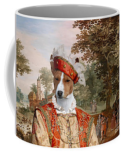 Basenji Art Canvas Print Coffee Mug