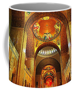 Coffee Mug featuring the photograph  Basilica Of The National Shrine Of The Immaculate Conception by John S