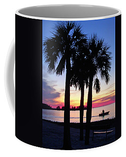 Beach Sunset Coffee Mug by Aimee L Maher Photography and Art Visit ALMGallerydotcom