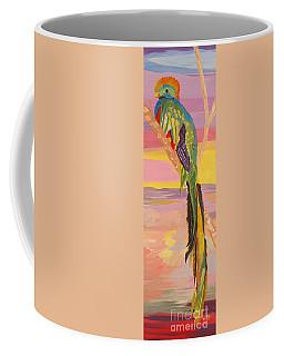 Beautiful Bird Quetzal Must Open  Coffee Mug