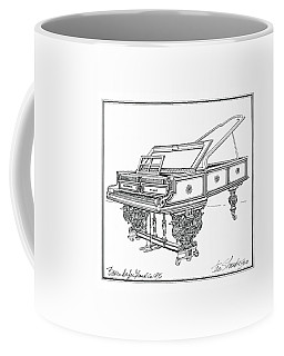 Bosendorfer Centennial Grand Piano Coffee Mug
