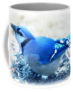 Bright Blue Jay  Coffee Mug