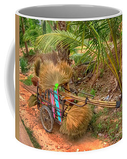 Brooms Coffee Mug by Michelle Meenawong