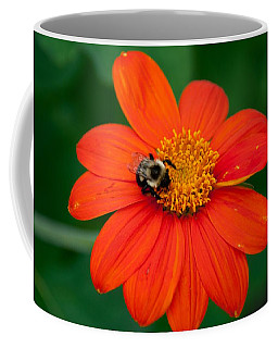 Bumblebee On Flower Coffee Mug