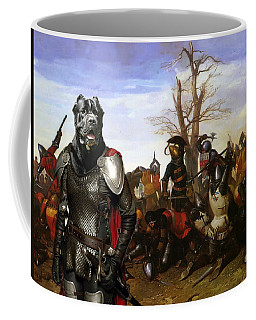 Cane Corso Art Canvas Print - Swords And Bravery Coffee Mug