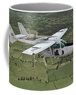 Cessna O-2a Skymaster Coffee Mug
