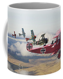 Circus Comes To Town Coffee Mug by Pat Speirs