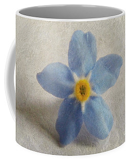 Myosotis 'forget-me-not'- Single Flower Coffee Mug
