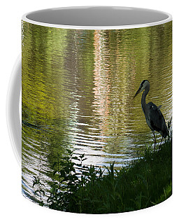 Coffee Mug featuring the photograph Contemplating Impressionist Paintings by Georgia Mizuleva
