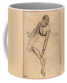 Dancer Adjusting Her Slipper Coffee Mug