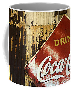 Drink Coca Cola  Memorbelia Coffee Mug by Bob Christopher