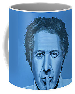 Dustin Hoffman Painting Coffee Mug