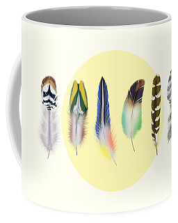 Feathers 2 Coffee Mug