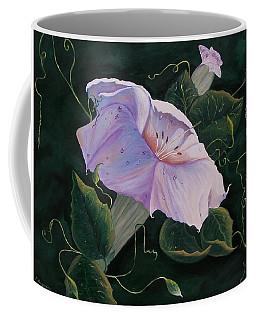 First  Trumpet Flower  Of Summer Coffee Mug