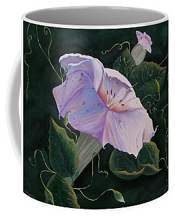 First  Trumpet Flower  Of Summer Coffee Mug