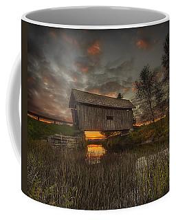 Foster Covered Bridge Sunset Coffee Mug