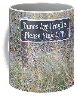 Coffee Mug featuring the photograph Sand Dune  by Eunice Miller