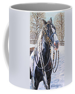 I'm Ready For The Ribbons Gypsy Vanner Horse Coffee Mug