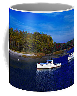 Kennnepunkport Harbor  Maine  Coffee Mug