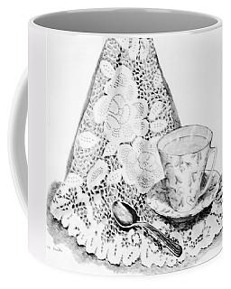 Lace With Cup Coffee Mug