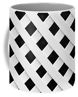 Lattice Fence Pattern Coffee Mug