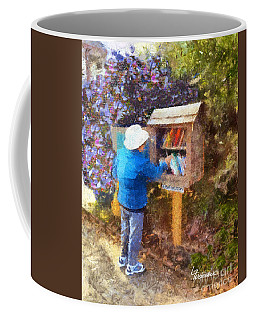 Alameda  Little Free Library Coffee Mug
