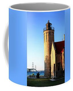 Mackinac Old Lighthouse. Coffee Mug