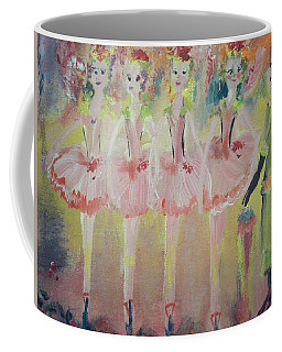 Madams Quadrille Ballet  Coffee Mug by Judith Desrosiers