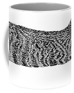 Skippy The Manx Cat Sleeping Coffee Mug by Jack Pumphrey