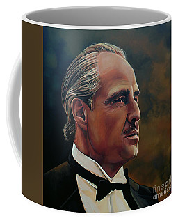Marlon Brando Coffee Mug by Paul Meijering