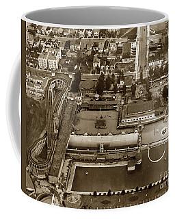 Neptune Beach Olympic Size Swimming Pool And A Roller Coaster Alameda Circa 1920 Coffee Mug