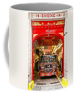 New York Fire Department Engine 14 Coffee Mug by Luciano Mortula
