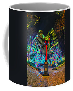 Nightlife Around Charlotte During Christmas Coffee Mug