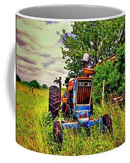 Old Ford Tractor Coffee Mug by Savannah Gibbs