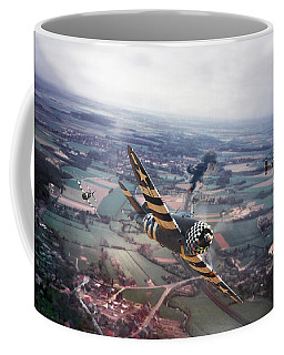 P47- D-day Train Busters Coffee Mug by Pat Speirs