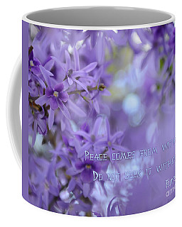 Peace Comes From Within Coffee Mug