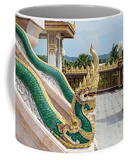 Phuket Thailand Chalong Wat Dragons Coffee Mug