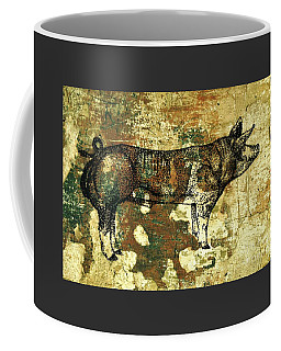 German Pietrain Boar 27 Coffee Mug