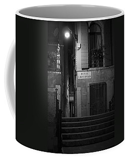 Coffee Mug featuring the photograph  Ponte Giustinian - Venice by Lisa Parrish